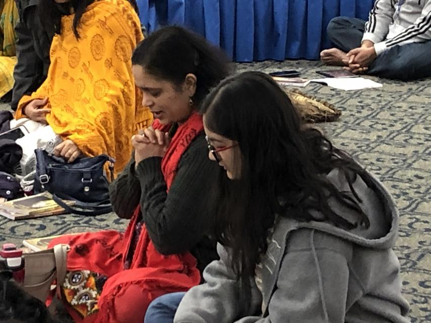 Kirtan Sessions at 2019 Winter Bhakti Retreat Stir the Soul in Allen TX