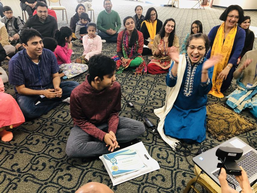 Radha Krishna Temple Recognizes Dedication and Service of Outstanding Youth