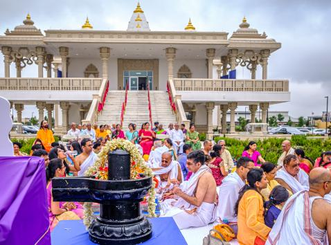 Shivratri Celebration at Radha Krishna Temple of Dallas