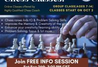 Chess Class at Radha Krishna Temple