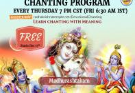 Devotional Chanting Program
