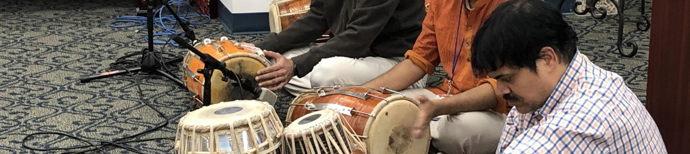 Kirtan Musicians at 2019 Winter Bhakti Retreat at Radha Krishna Temple Allen TX