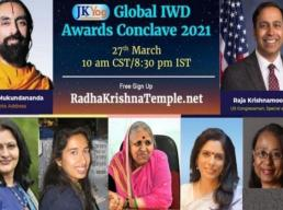 JKYog Women's Day Awards Conclave: World-renowned speakers, panel on gender equality