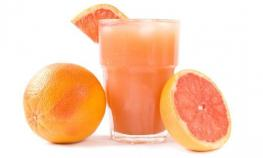 Grapefruit Orange juice